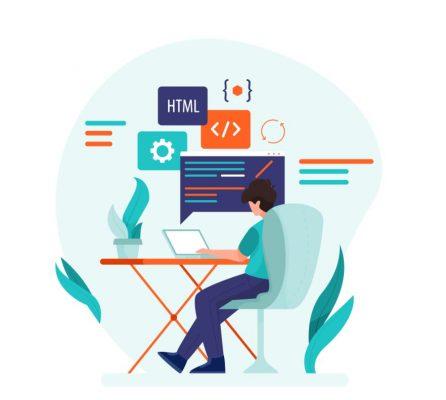 programmer-working-flat-style_52683-15041